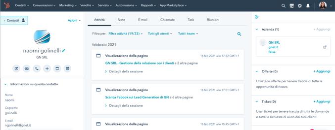 esempio-timeline-scheda-cliente-hubspot